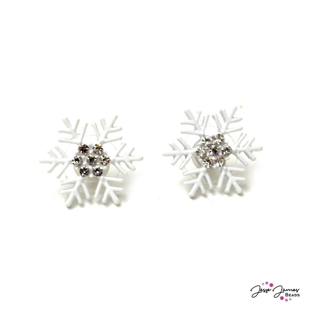 Snowflake Earring Components