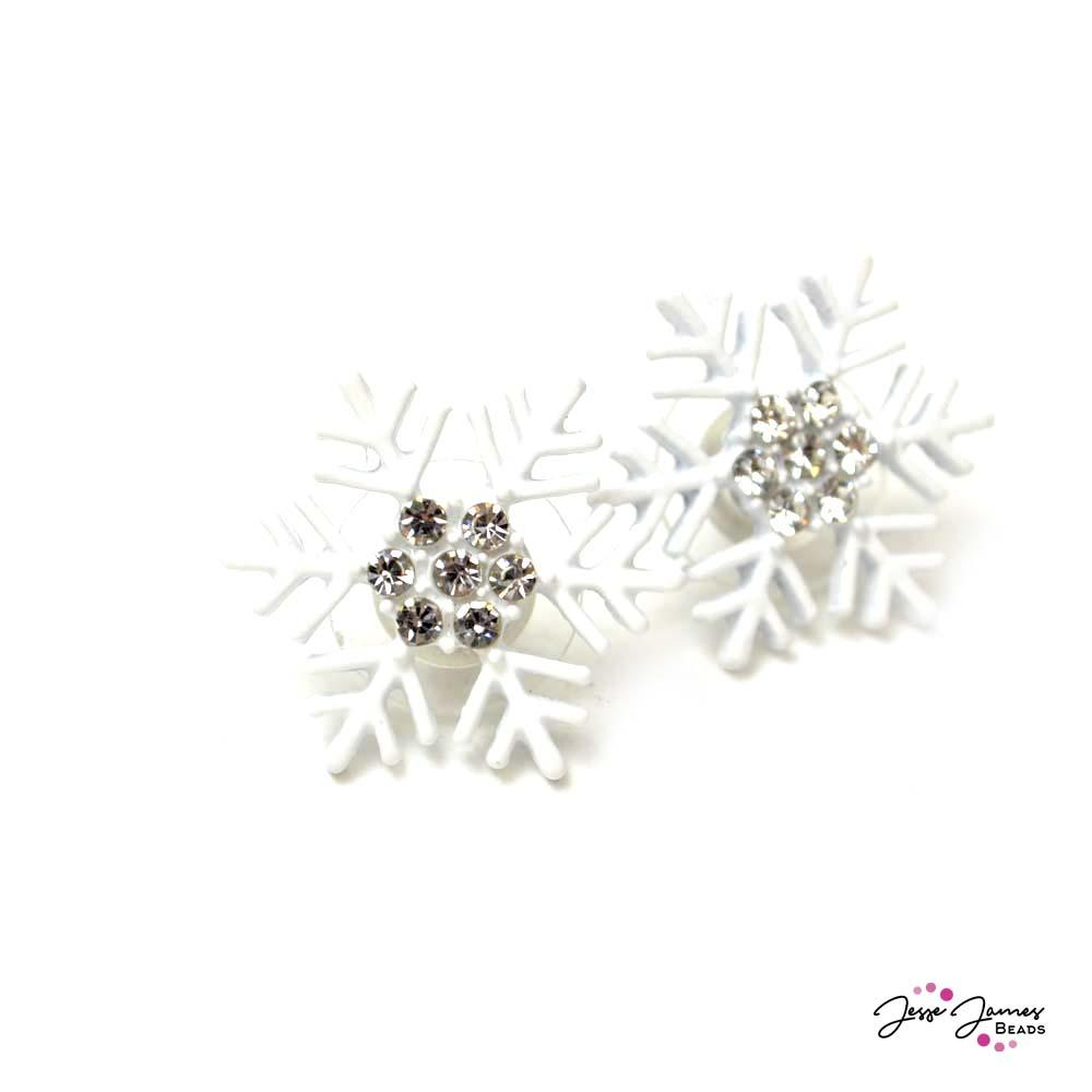 Earring Components Snowflake