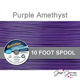 Purple Amethyst Soft Flex Wire