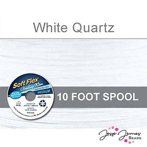 White Quartz Soft Flex Wire