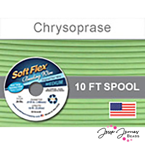 Chrysoprase Soft Flex Wire