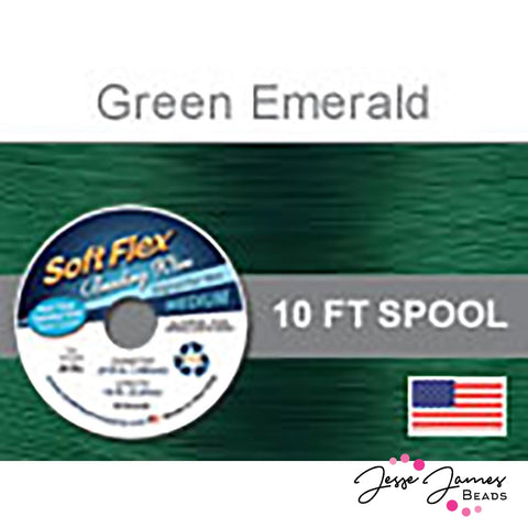 Green Emerald Soft Flex Wire