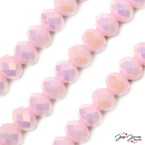 Bead Set in Strawberry Lemonade 14MM Chichi Glass