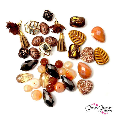 Sugar Almond Design Elements Bead Mix