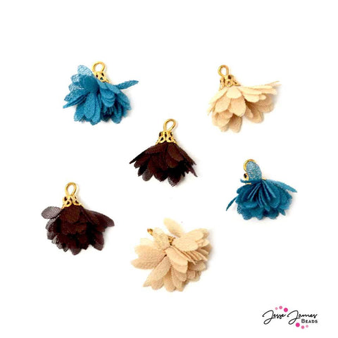 Tassel Assortment in Floral Oasis