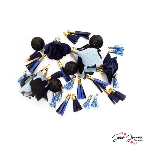 Tassel Assortment In Midnight Sky