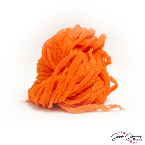 Fairy Silk Cord in Orange Creme Soda