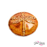 Vintage Dragonfly Focal Bead