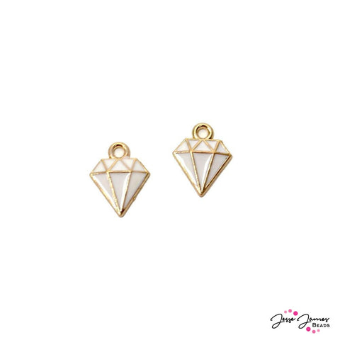 Charm Pair White Diamond