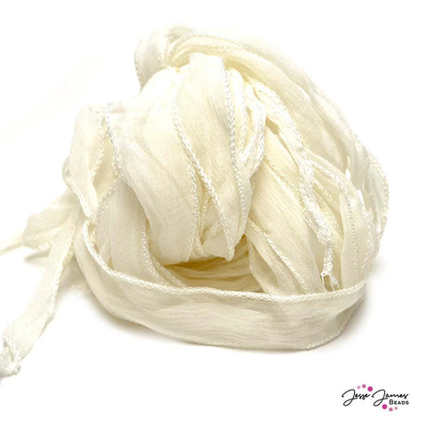 White Fairy Silk Cord