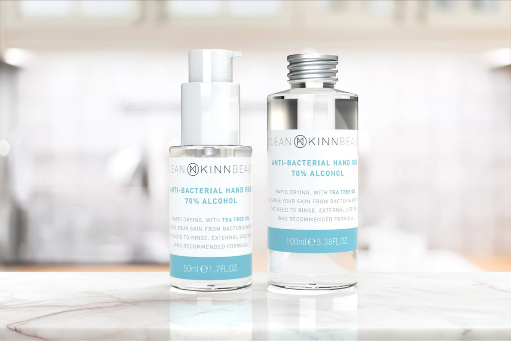 50 ml KINN Hand Sanitising Set with tea tree oil