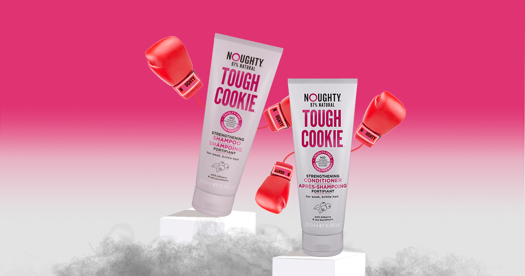 New Tough Cookie Strengthening Shampoo and Conditioner