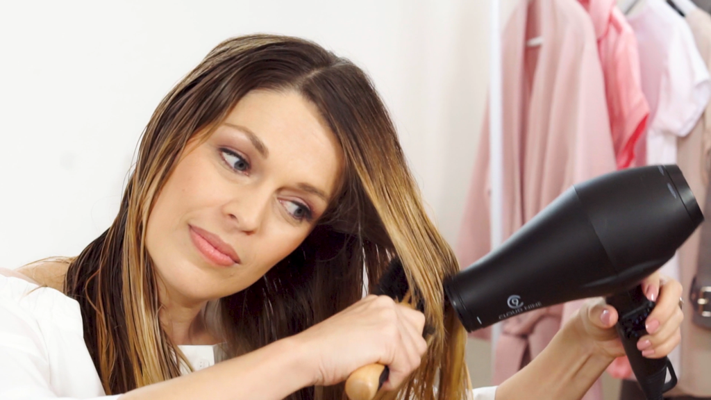 The right and very wrong ways to dry your hair.