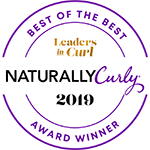 Natural Curly Award - Best of the Best 2019