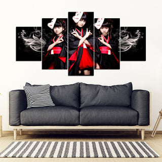 Babymetal - 5 Pieces Canvas With Frame