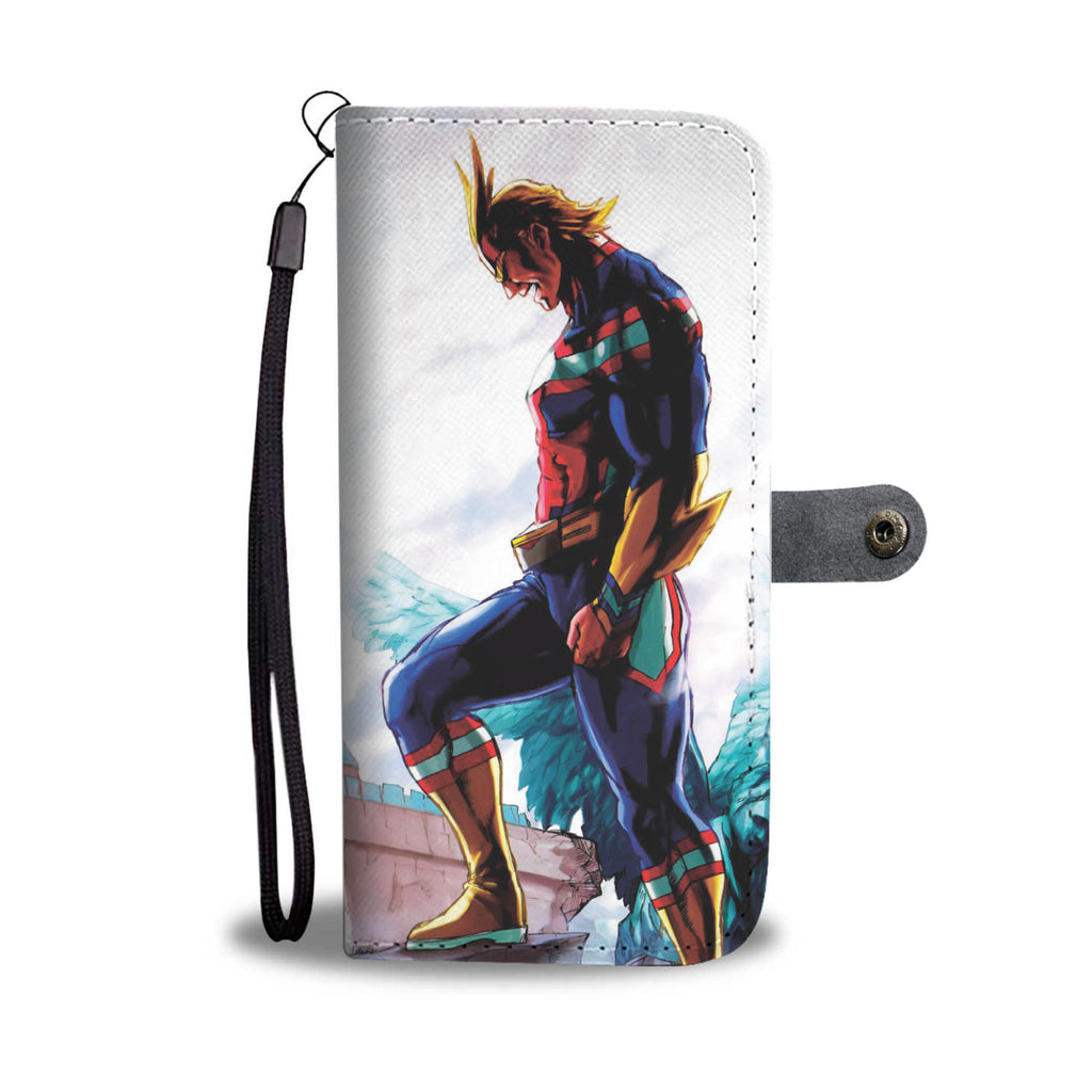 My Hero Academia - Wallet Phone Case #ALL MIGHT