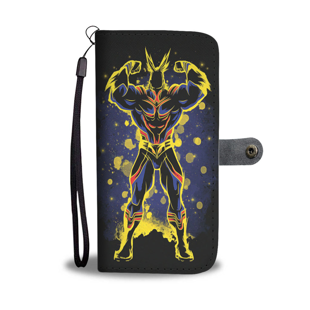 My Hero Academia Wallet Phone Case All Might Symbol Of Peace