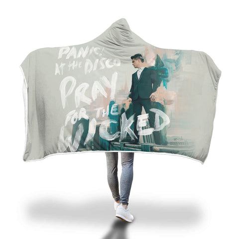 Panic At The Disco, Pray for the Wicked - Hooded Blanket