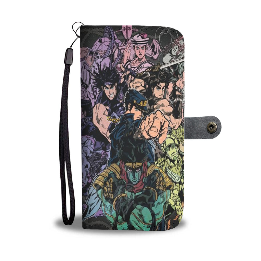 Jjba Merch - Wallet Phone Case