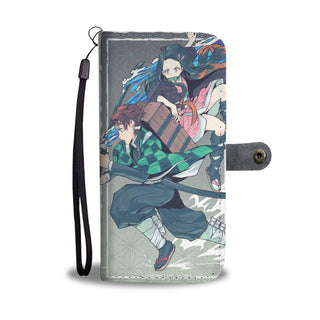 Demon Slayer Tanjiro & Nezuko Phone Case Wallet