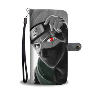 Naruto - Kakashi - Wallet Phone Case