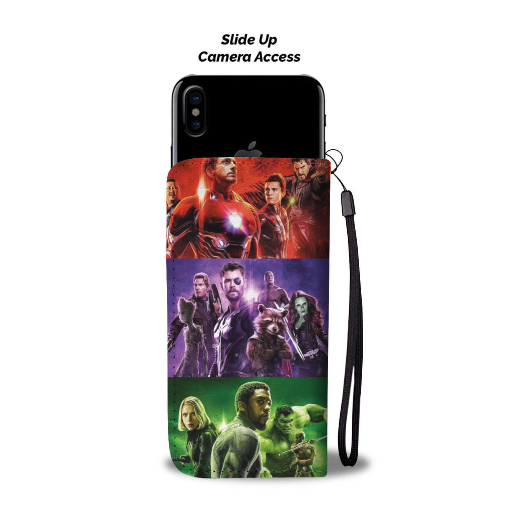 Infinity War - Wallet Phone Case