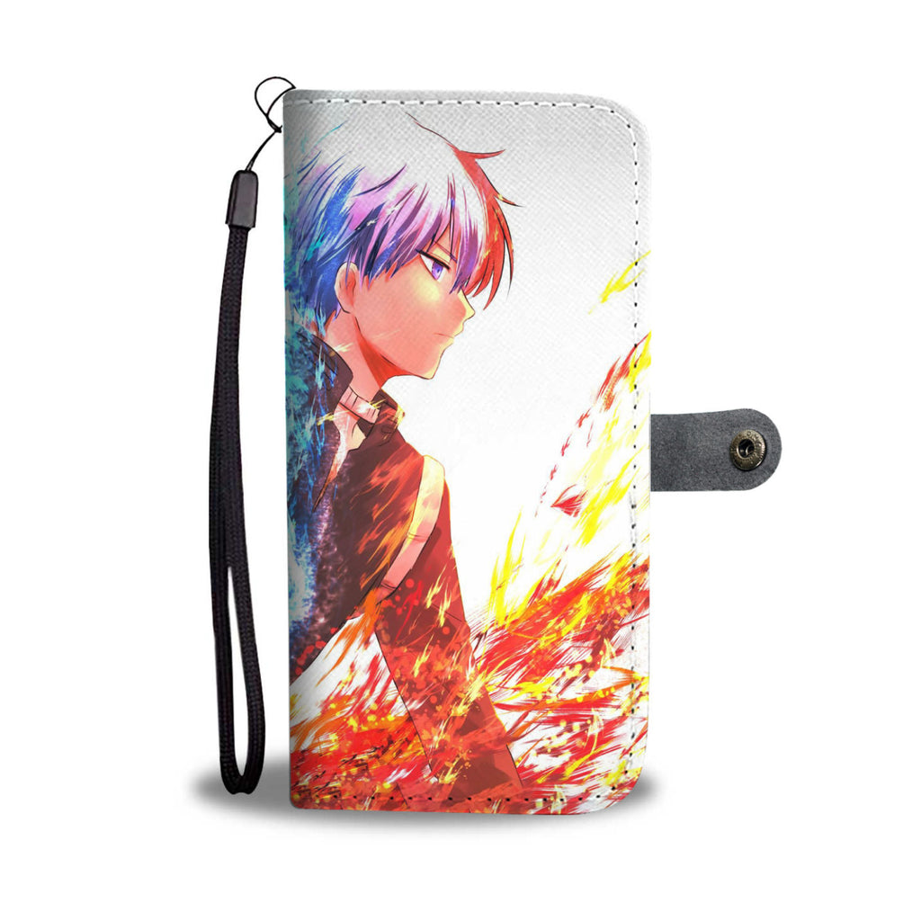 My Hero Academia - Boku No Hero Academia - Wallet Phone Case #Todoroki