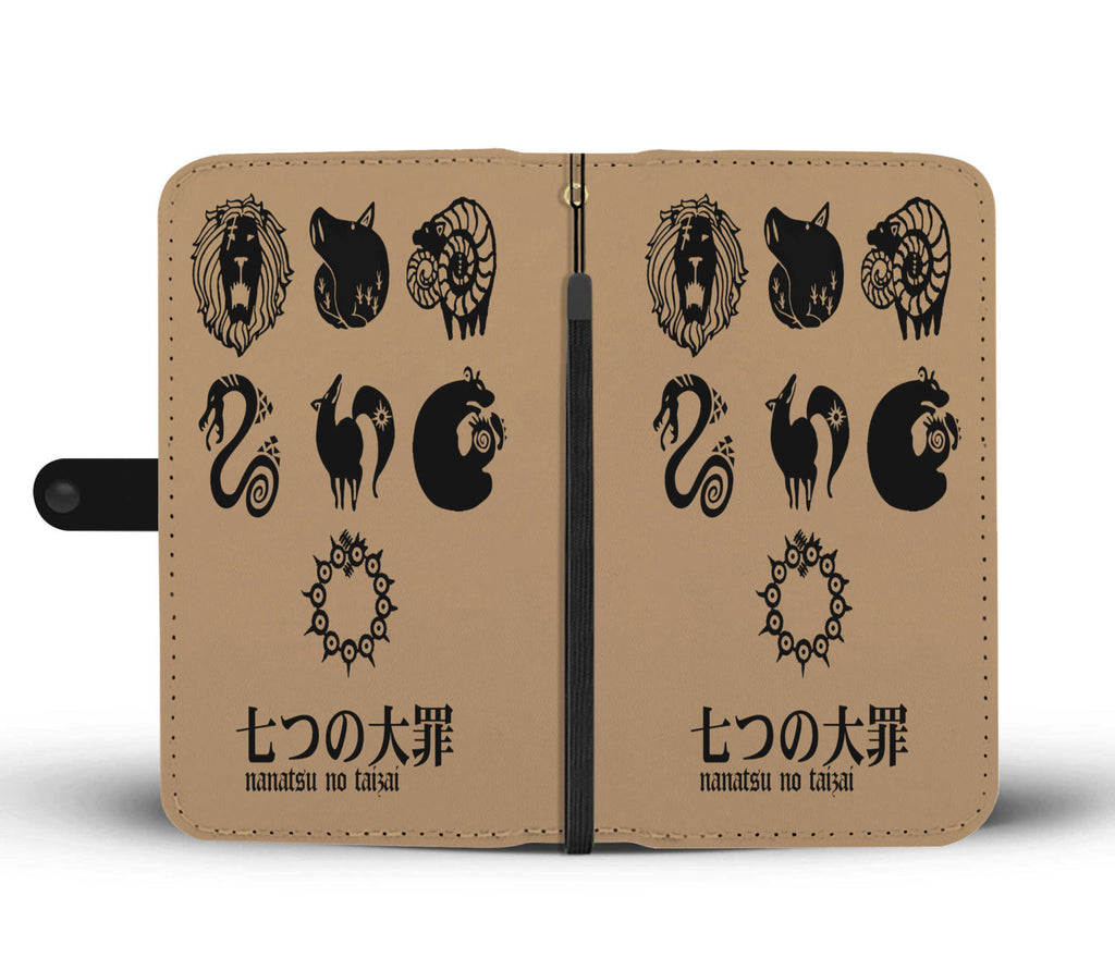 7 Deadly Sins - Wallet Phone Case - #Capital Sins