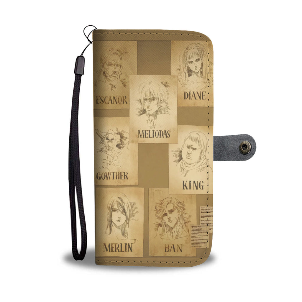 7 Deadly Sins - Wallet Phone Case - #Wanted Posters