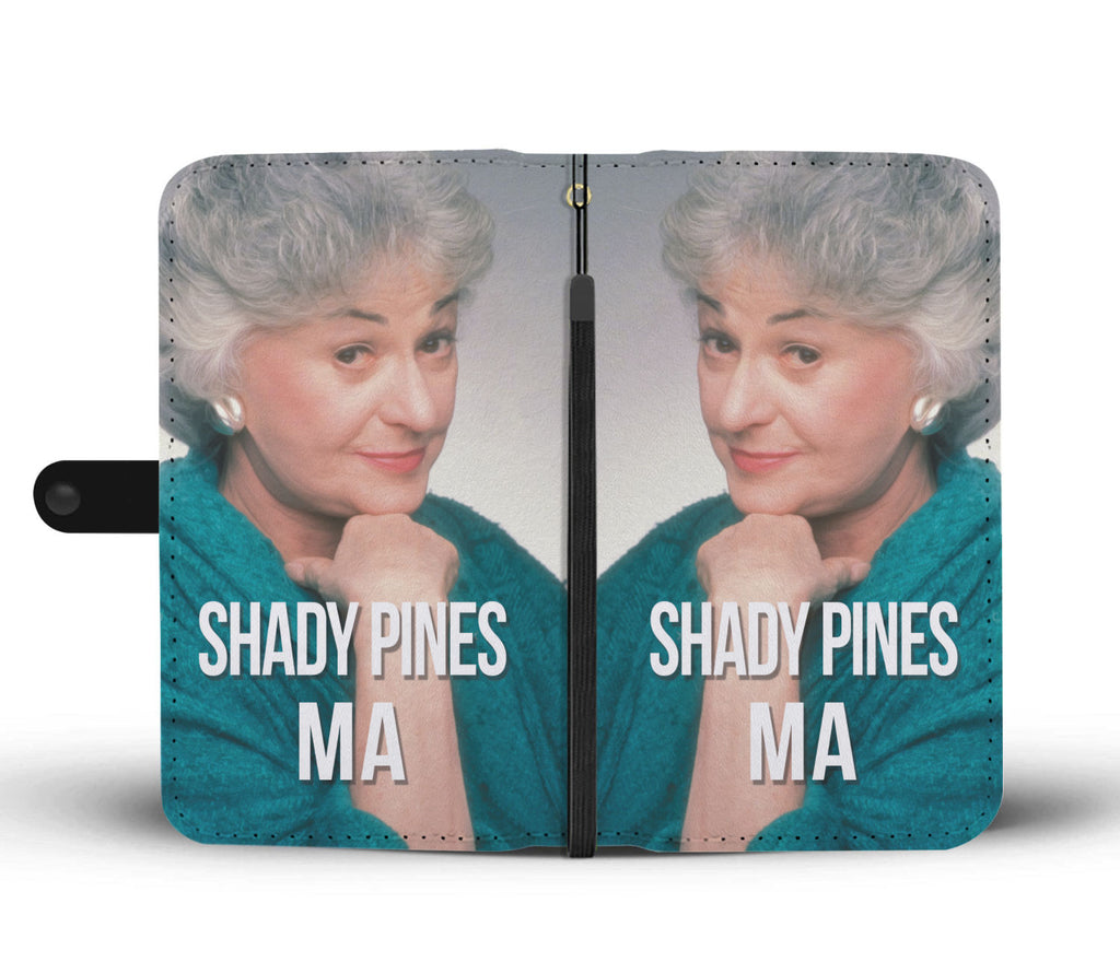 The Golden Girls - Wallet Phone Case - SHADY PINES MA