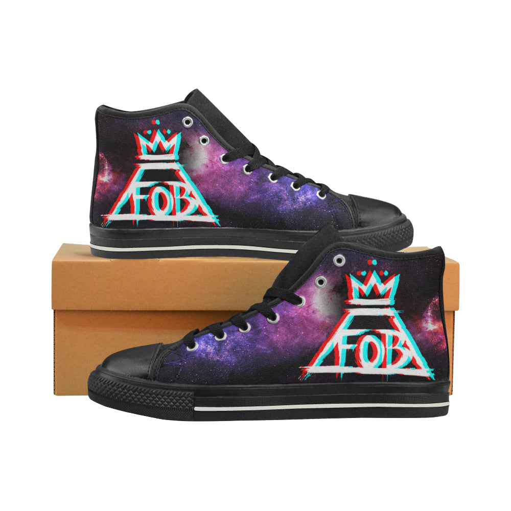 Fall Out Boy Canvas Shoes Women's Shoes
