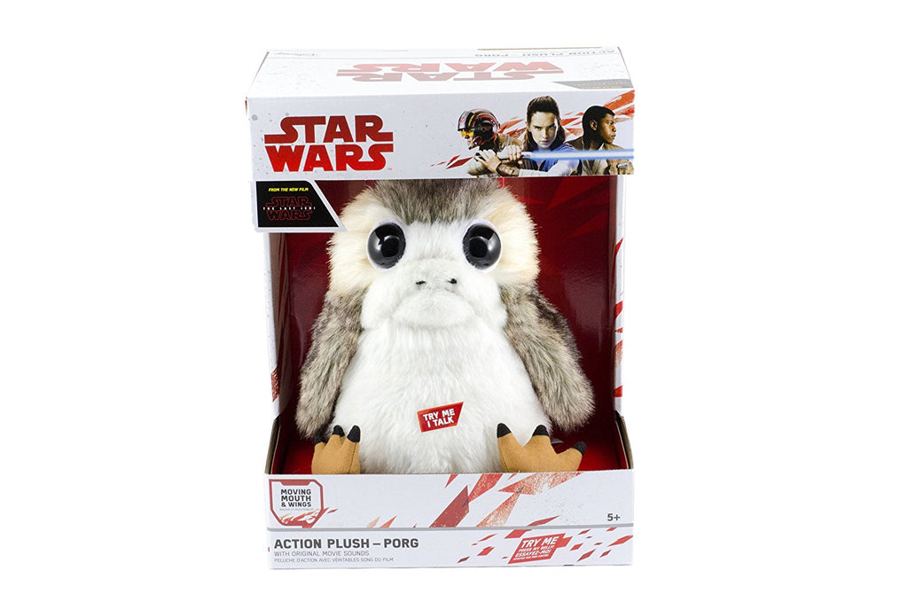 The Last Jedi: Life-Sized Interactive Action Porg Plush