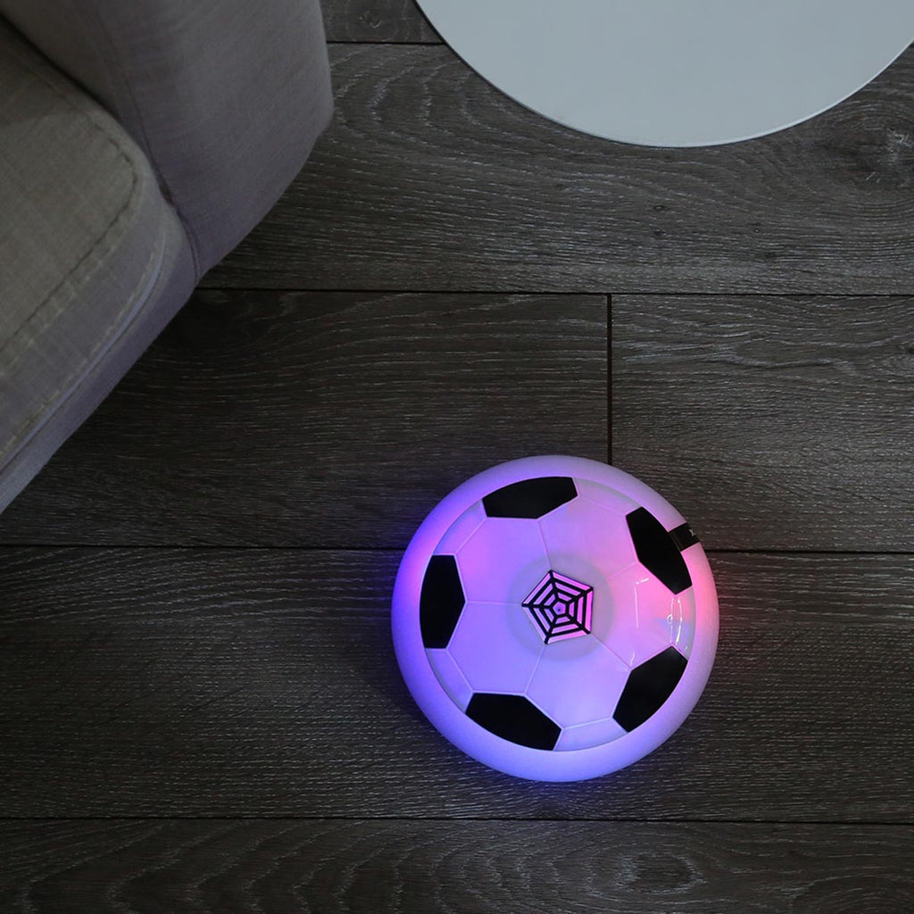 Kids Toys Air Power Soccer Ball - Disk Hover Ball Equipped With LED Lights - Gift for Kids