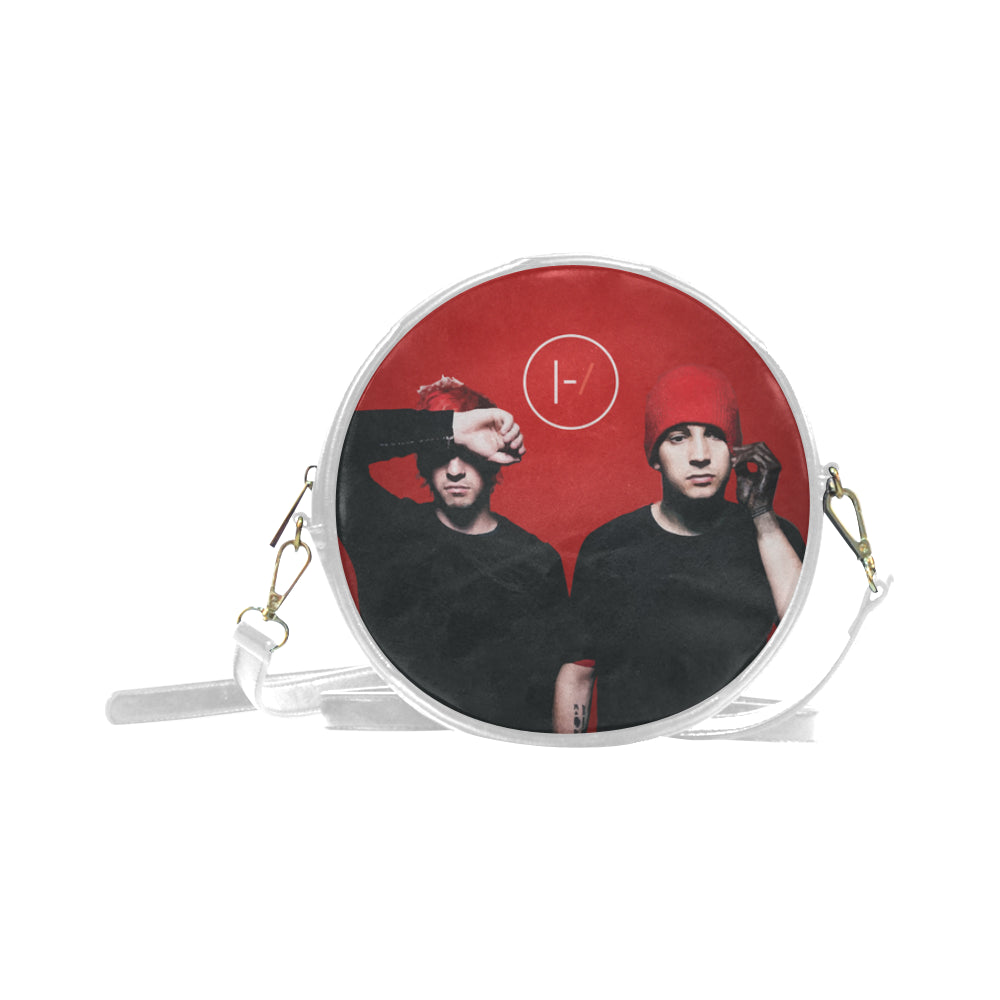 Tyler & Josh Round Messenger Bag