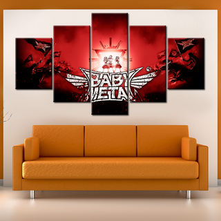 Babymetal - 5 Pieces Canvas #105