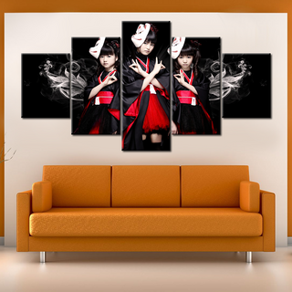 Babymetal - 5 Pieces Canvas