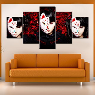 Babymetal Fox God - 5 Pieces Canvas