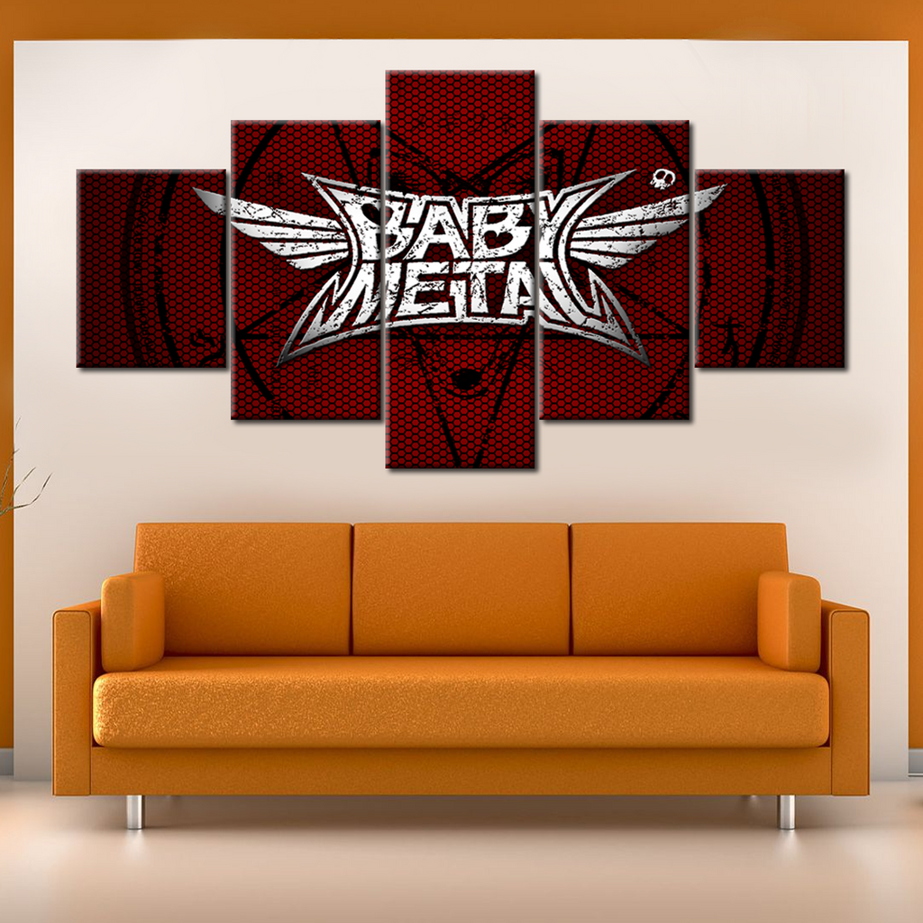 Babymetal - 5 Pieces Canvas #104
