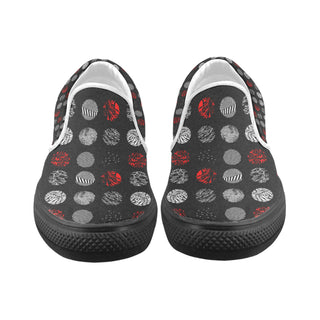 Twenty One Pilots Blurryface - Black Women's Slip-on Canvas Shoes