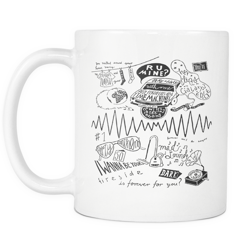 Arctic Monkeys Mug, Arctic Monkeys Gift, Alex Turner, Do I Wanna Know, Suck It and See, R U Mine, Matt Helders, I Wanna Be Yours, shirt
