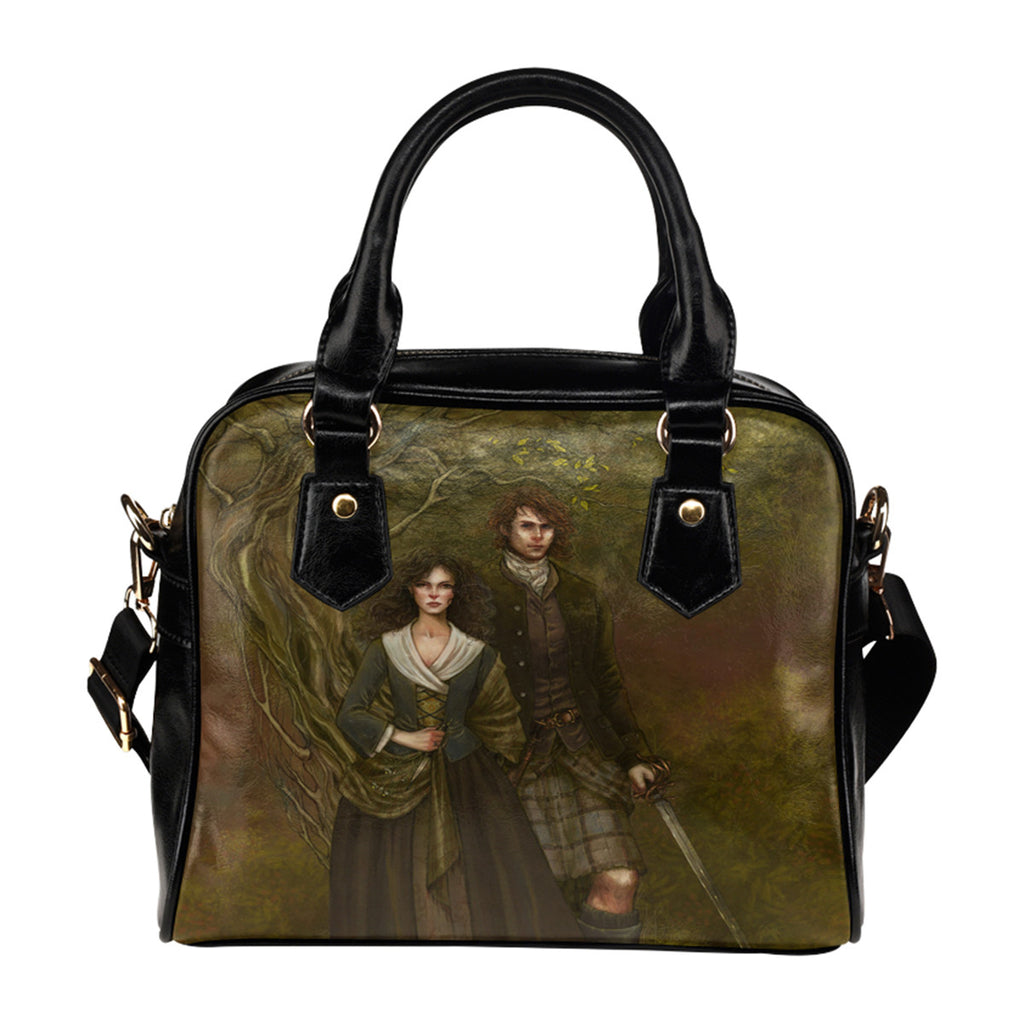 Jamie Fraser and Claire - Shoulder Handbag