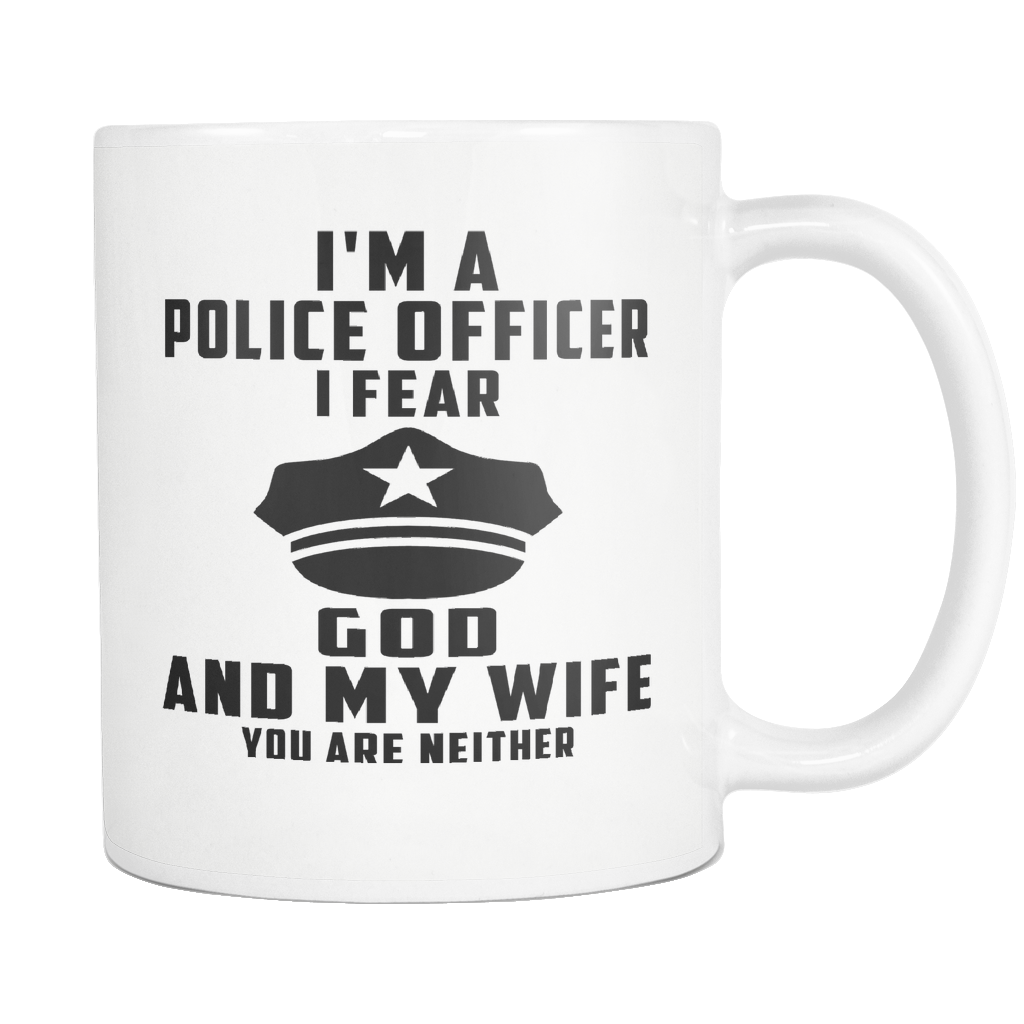 Polic Officer Mug, Police Officer Gift, Police Gifts, Police Wife, Police Girlfriend, Law Enforcement Gift, Thin Blue Line Decor