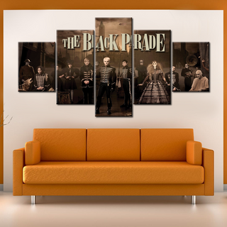 The Black Parade MCR - 5 Pieces Canvas