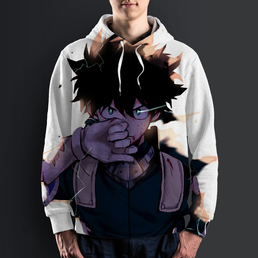 My Hero Academia -  AllOverPrint Hoodie #Midoriya Izuku