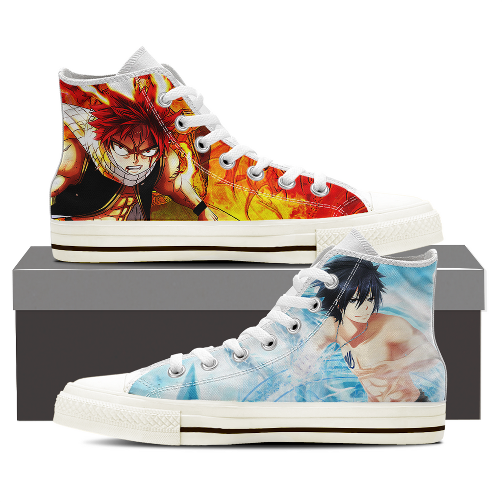 Fairy Tail - Natsu and Gray Merchandise Shoes Sneakers