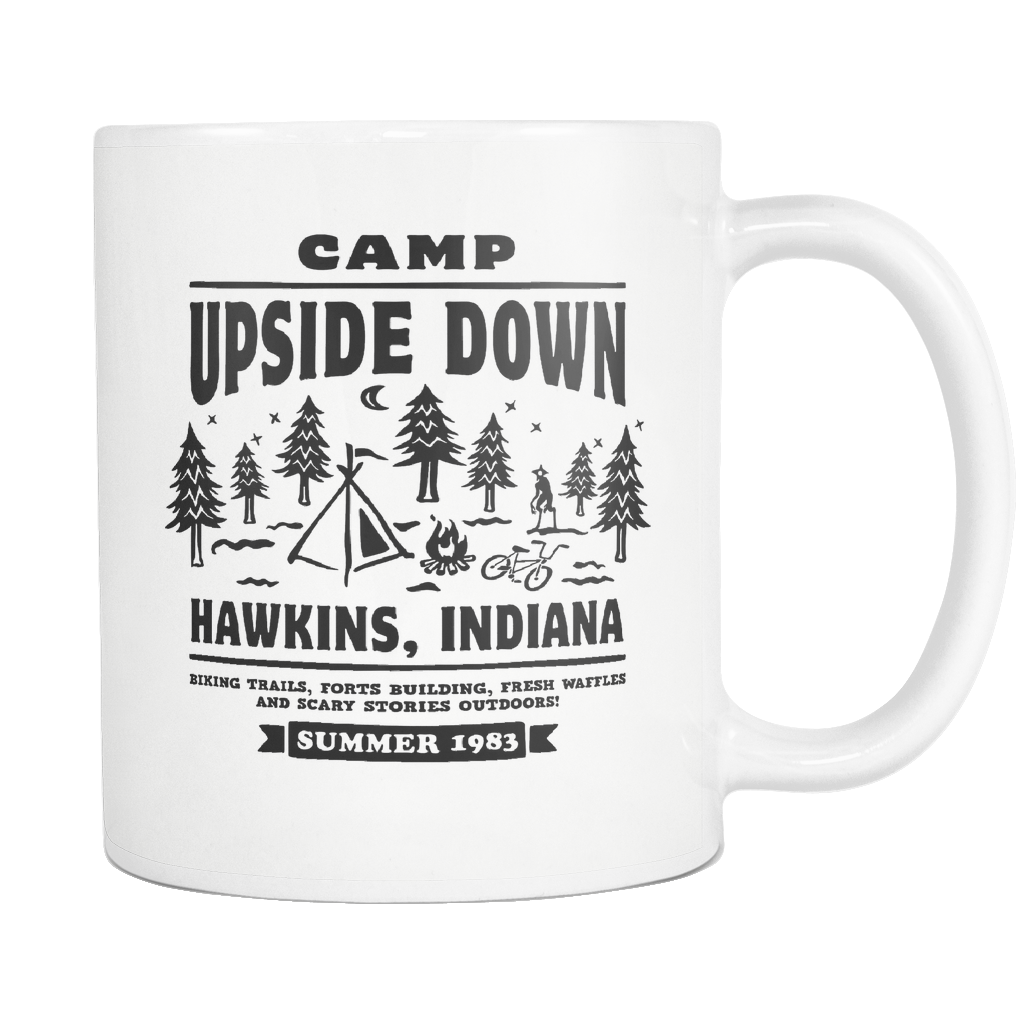 Stranger Things Mug, Upside Down, Stranger Things Gift, Hawkins Indiana, Millie Bobby Brown, Stranger Things Art, Eggos, Strangerthings