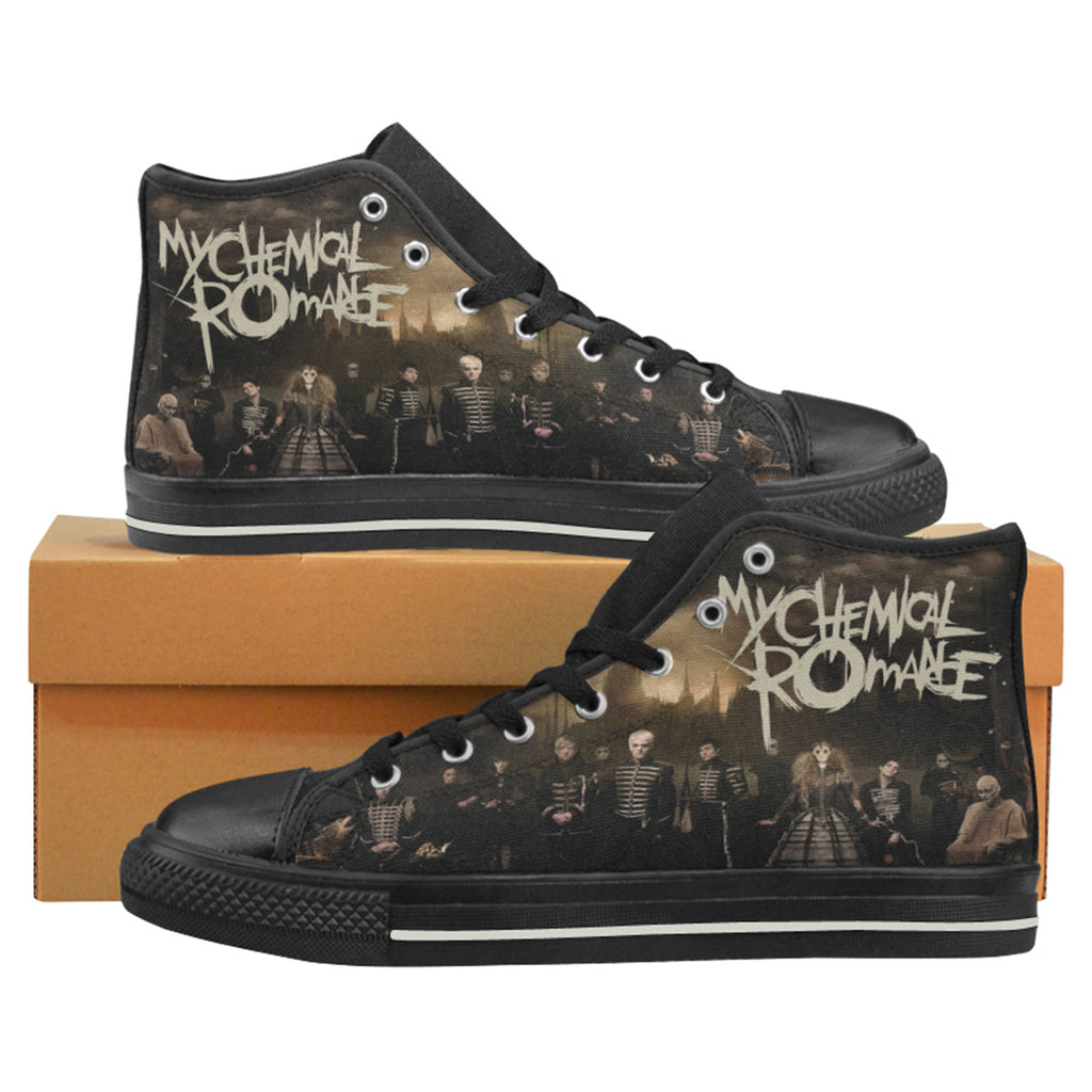 My Chemical Romance Shoes - MCR The Black Parade 2