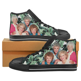 The Golden Girls Blanche, Dorothy, Sophia, Rose - Canvas Shoes Sneakers