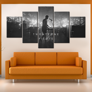 Twenty One Pilots - 5 Pieces Canvas