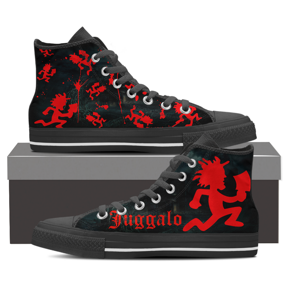 Juggalo - Insane Clown Posse - Gathering of the Juggalos- Canvas Shoes